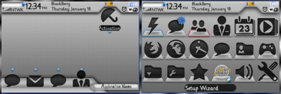 <b>Cool blackberry 9000 theme</b>