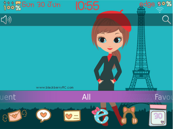 <b>free Preety in Paris 99xx bold theme</b>