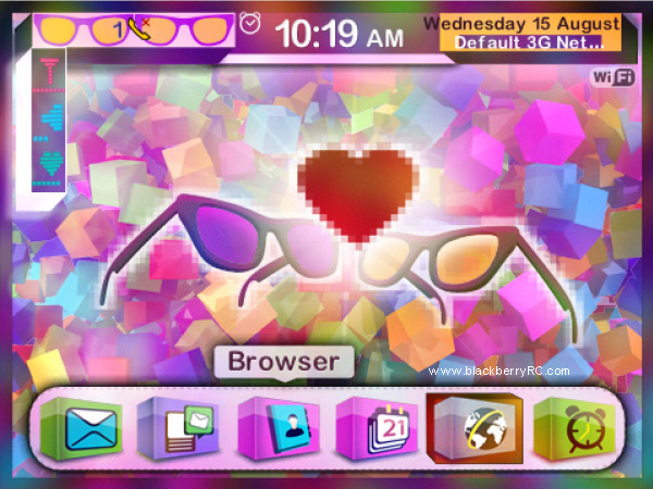 <b>Fall in Colors theme for bb 9900,9930,p9981 os7</b>