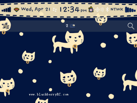 <b>Cute Kitty Cat for 99xx bb theme</b>