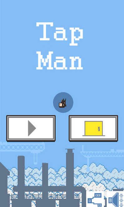 <b>Tap Man 1.0.3 for BlackBerry Classic game</b>