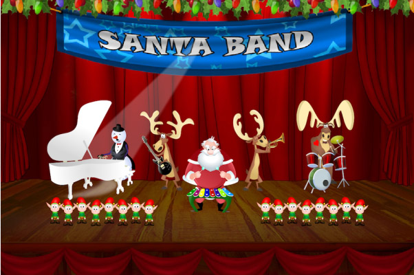 <b>Santa Band for BlackBerry 10</b>
