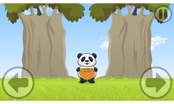 Panda Catch Orange 1.0.2 for blackberry world games