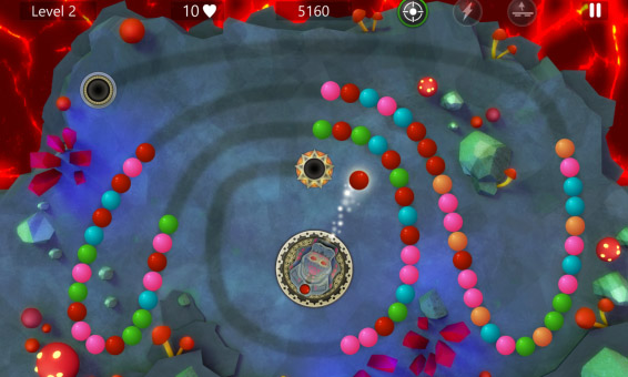 <b>Marble Power Blast 1.0.7 for blackberry 10 game</b>