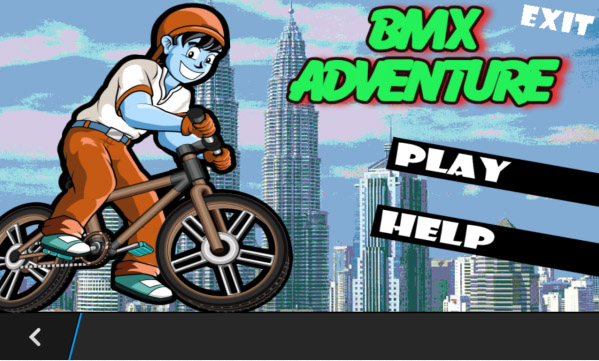<b>BMX Adventure v1.0.10 for bb z3,z10,z30 games</b>