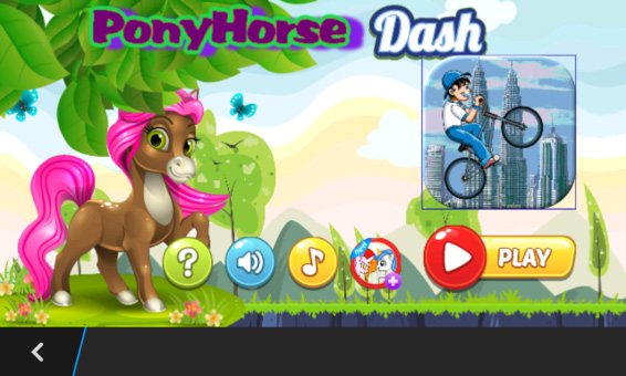 Pony Horse Dash v1.0.20 for blackberry game