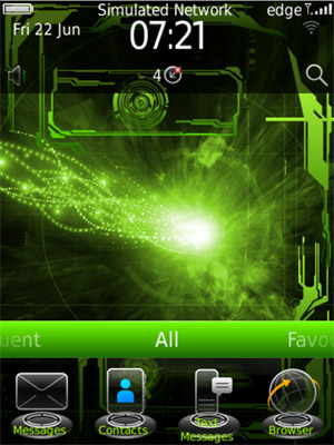 <b>Digital Green World Annihilation 99xx bold Theme</b>
