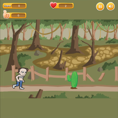 Run And Jump - jump and avoid obstacles when running