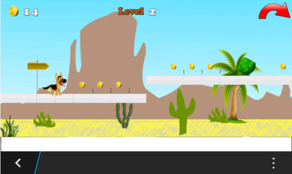 Puppy Adventure 1.0.1 for blackberry games