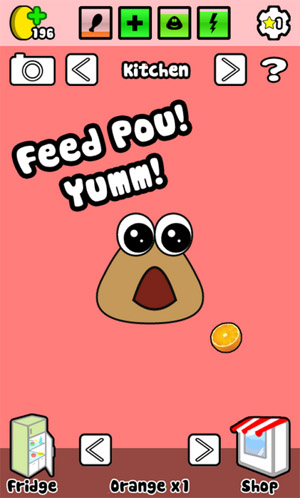<b>Pou v1.0 for passport games</b>