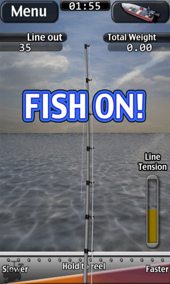 iFishing Saltwater 2 v1.0.3 for blackberry 10 game