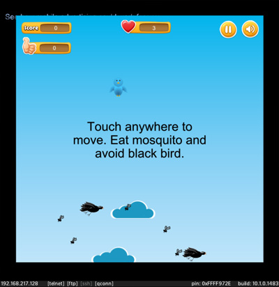 <b>Eat Mosquito - eat as many mosquitos as possible</b>