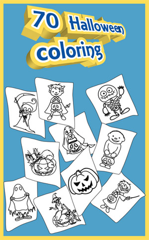 <b>Halloween Coloring Pages v1.0.1</b>