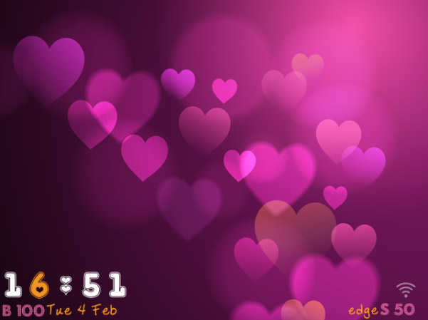 <b>Love is ALL U Need for blackberry themes</b>