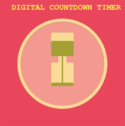 <b>Digital Countdown Timer v0.0.1.1 blackberry apps</b>