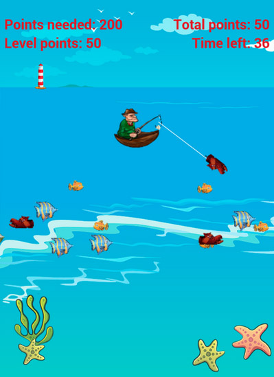 <b>Fishing Game</b>