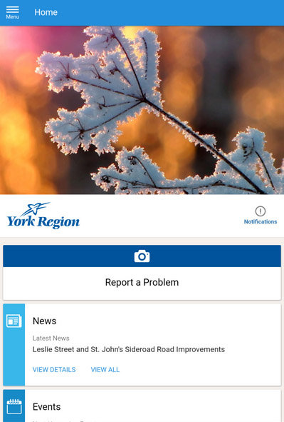 York Region v1.0.0.1 for blackberry apps