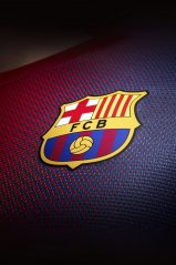FCB wallpaper for BB keyone