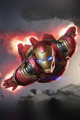 <b>Iron Man for blackberry keyone wallpaper</b>