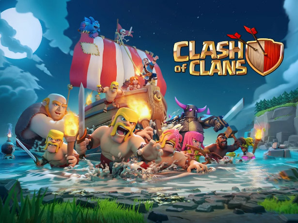 <b>Clash of Clans FOR blackberry keyone game</b>