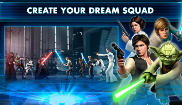 <b>Star Wars™: Galaxy of Heroes for BB Detk60 game</b>