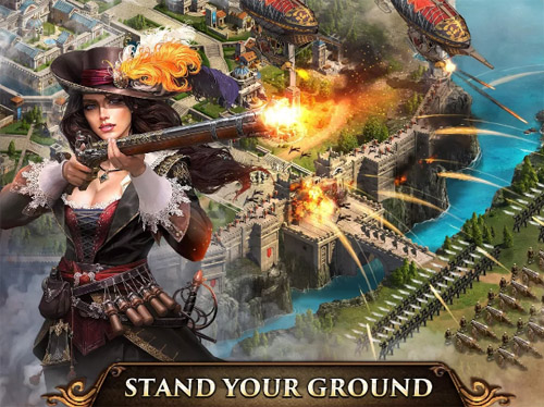<b>Guns of Glory blackberry android games</b>