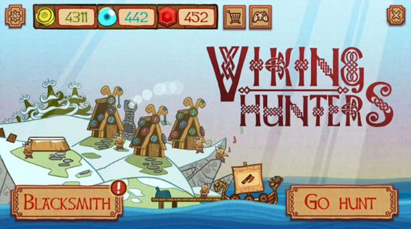 <b>Viking Hunters for blackberry games</b>