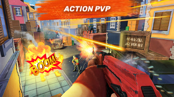 <b>Guns of Boom - Online Shooter for blackberry game</b>