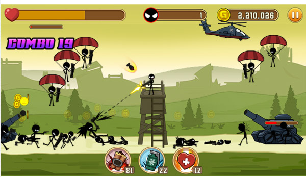 <b>Stickman Fighter 1.0.1 for blackberry games</b>