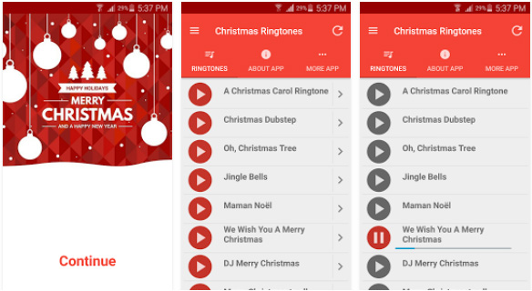 christmas ringtones for android apps - Christmas Ringtones Android