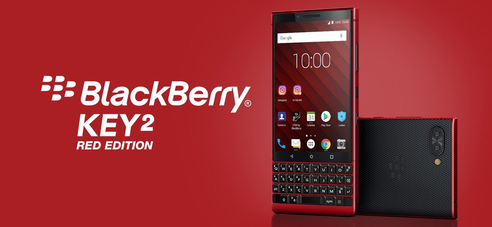 Blackberry KEY2 Red Edition Hands On: Same Phone, New Color