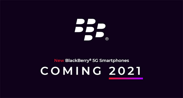 A new 5G BlackBerry Android smartphone with a keyboard will arrive in 2021